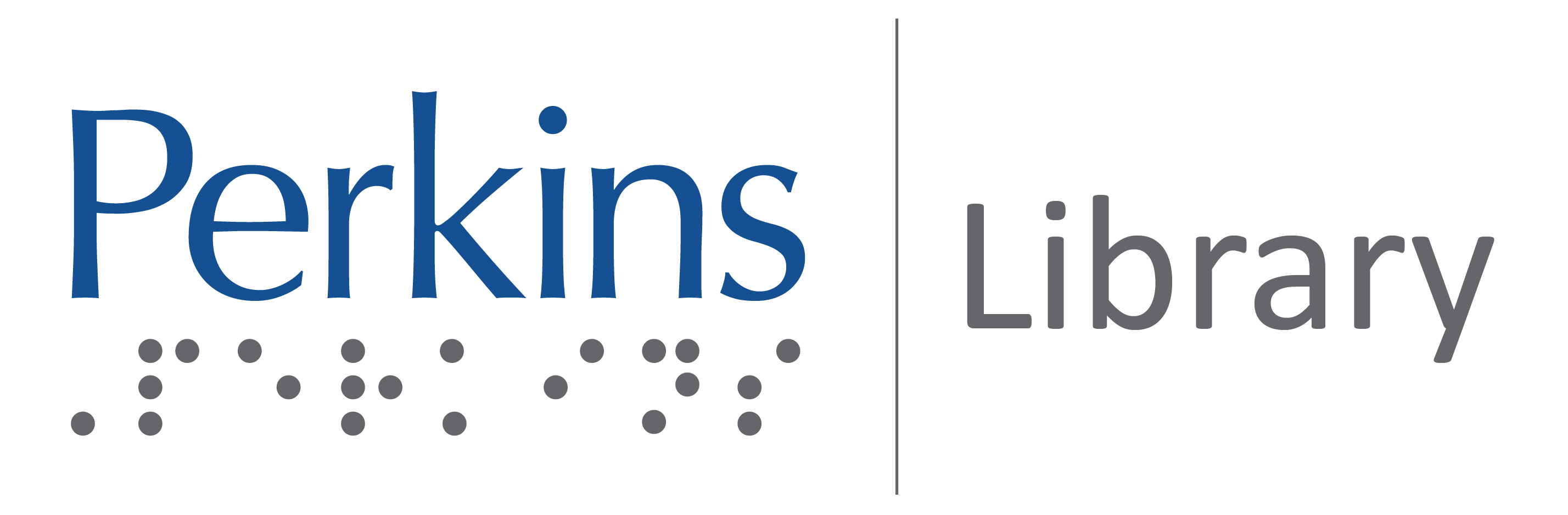 Perkins Library logo