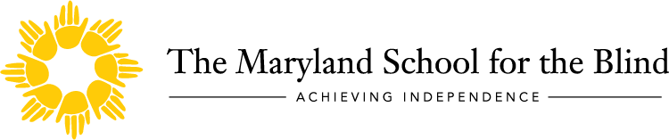Maryland School for the Blind logo